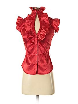 FCNY Short Sleeve Blouse Size S
