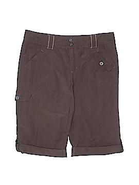 French Cuff Cargo Shorts Size 12