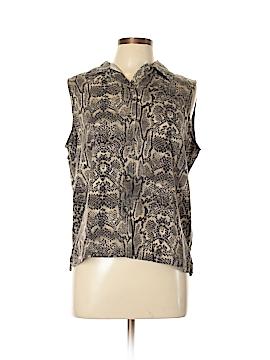 Jones New York Sleeveless Button-Down Shirt Size 12