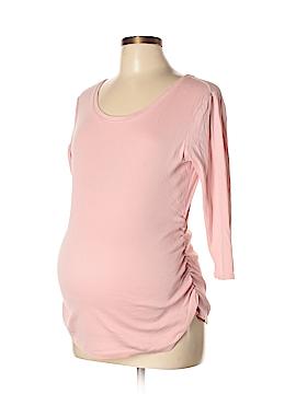Mimi Maternity Long Sleeve T-Shirt Size L (Maternity)