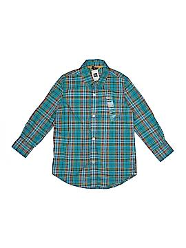 Gap Kids Long Sleeve Button-Down Shirt Size 4 - 5