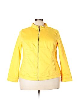 Liz Claiborne Denim Vest Size 2X (Plus)