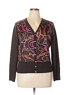 Talbots Silk Cardigan Size XL