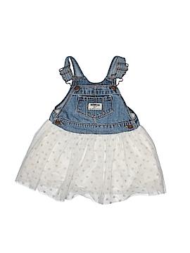 OshKosh B'gosh Overall Dress Size 12 mo