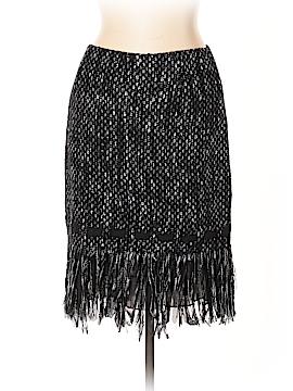 Teri Jon by Rickie Freeman Wool Skirt Size 10