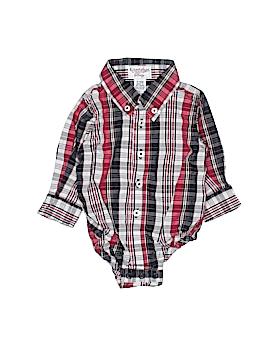 Kitestrings Long Sleeve Button-Down Shirt Size 3-6 mo
