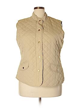 Mary McFadden Vest Size 1X (Plus)