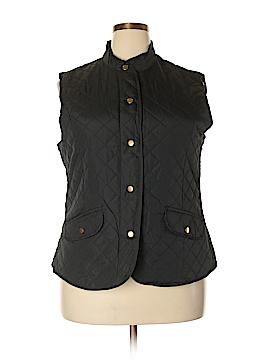 Mary McFadden Vest Size 2X (Plus)