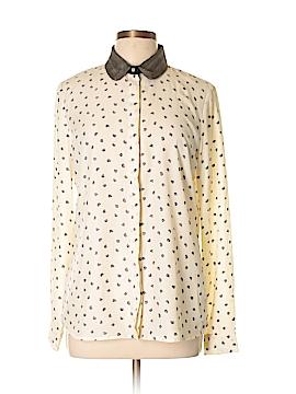 Maison Scotch Long Sleeve Blouse Size Lg (3)