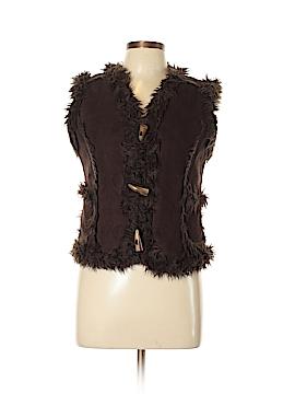 Rave Faux Fur Vest Size L