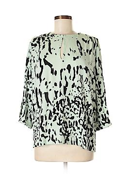 Diane von Furstenberg 3/4 Sleeve Blouse Size 6