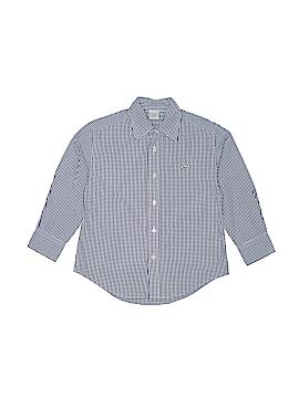 Crewcuts Long Sleeve Button-Down Shirt Size 4 - 5