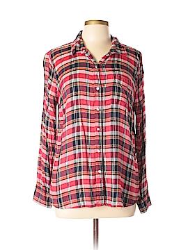 Lucky Brand Long Sleeve Button-Down Shirt Size M