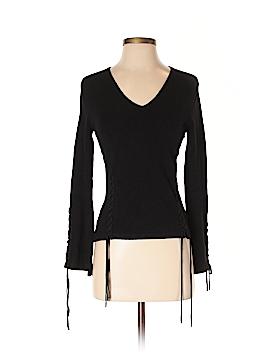 Max Studio Silk Pullover Sweater Size S