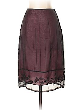 Max Studio Silk Skirt Size XS