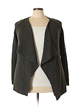 Tahari Wool Cardigan Size 2X (Plus)