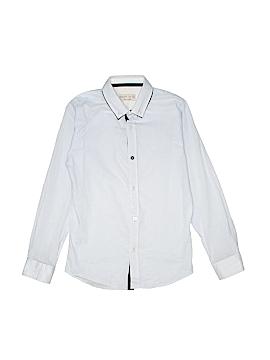 Zara Long Sleeve Button-Down Shirt Size 9 - 10
