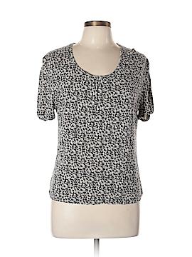 Gerard Darel Short Sleeve Top Size Lg (4)