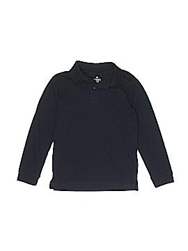 Chaps Long Sleeve Polo Size 8