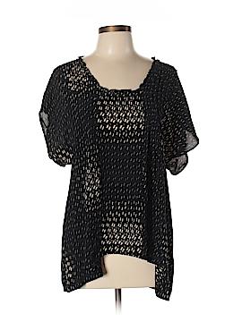 Dil 3/4 Sleeve Silk Top Size 12