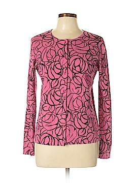 Jones New York Signature Silk Cardigan Size L