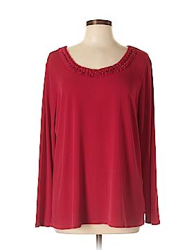 Susan Graver Long Sleeve Top Size L