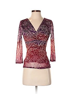 Chaps 3/4 Sleeve Blouse Size XS