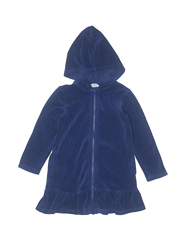dc9c1a884d Lands' End 100% Cotton Solid Navy Blue Swimsuit Cover Up Size 3T ...