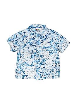 Miniwear Short Sleeve Button-Down Shirt Size 24 mo