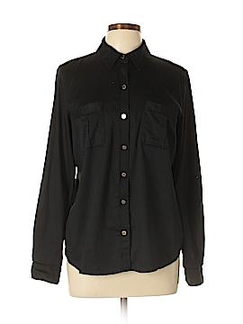 MICHAEL Michael Kors Long Sleeve Button-Down Shirt Size 12