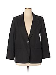 Sag Harbor Women Wool Blazer Size 14 (Petite)