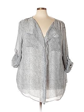 Calvin Klein 3/4 Sleeve Blouse Size 3X (Plus)
