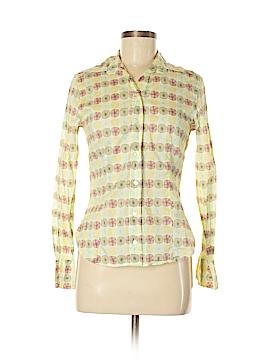 Barneys New York Long Sleeve Button-Down Shirt Size M