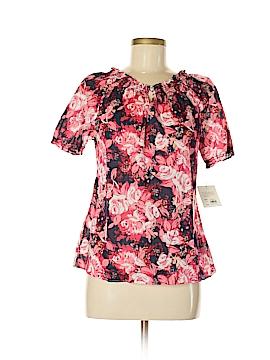Croft & Barrow Short Sleeve Blouse Size S