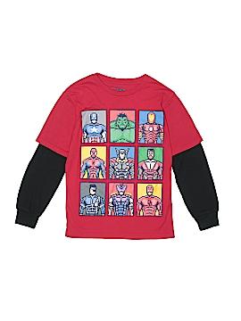 Marvel Long Sleeve T-Shirt Size 10 - 12