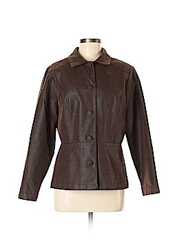 Gotcha Covered Faux Leather Jacket Size M