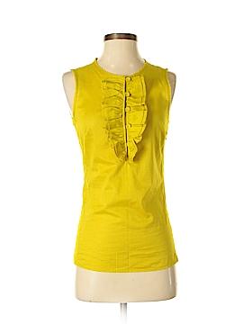Tory Burch Sleeveless Button-Down Shirt Size 4