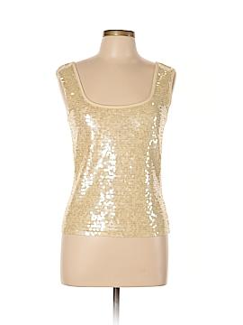 Darjoni Sleeveless Silk Top Size L