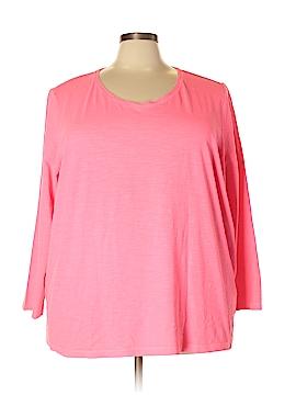Catherines Long Sleeve T-Shirt Size 3X (Plus)