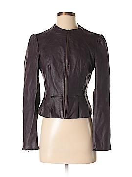 Elle Faux Leather Jacket Size S