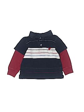 Wrangler Jeans Co Long Sleeve Polo Size 12 mo