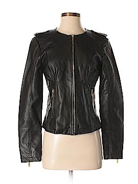 Calvin Klein Faux Leather Jacket Size S