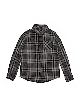 Shaun White Long Sleeve Button-Down Shirt Size M (Kids)