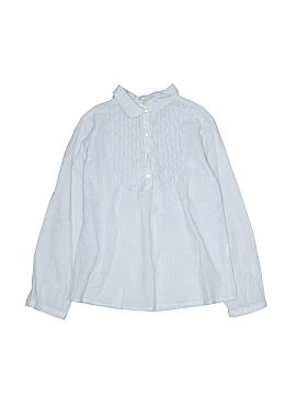 Zara Long Sleeve Button-Down Shirt Size 5-6
