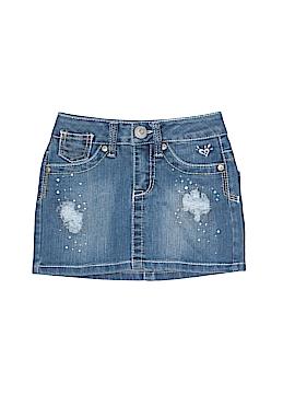 Justice Jeans Denim Skirt Size 6