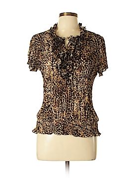 Sunny Leigh Short Sleeve Top Size L