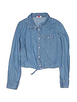 L.e.i. Long Sleeve Button-Down Shirt Size 10