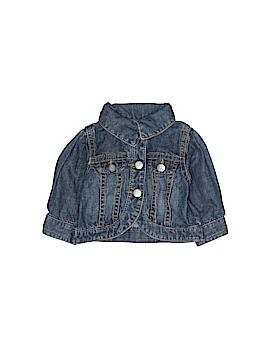 The Children's Place Denim Jacket Size 0-3 mo