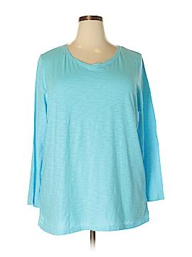 Catherines Long Sleeve T-Shirt Size 2X WP (Plus)
