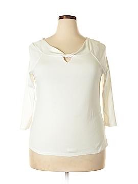 Rafaella Studio 3/4 Sleeve Top Size XL